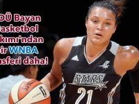 YDÜ Bayan Basketbol Takımı'ndan bir WNBA transferi daha!