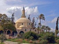 Hala Sultan'a bayram ziyareti