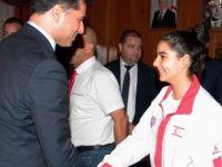 Başbakan Özgürgün Taekwondo Federasyonunu kabul etti
