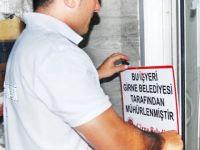 Girne Belediyesi'nden sıkı denetim: 2 mühürleme ve 5 para cezası!