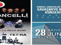 """Girne Belediyesi'nden """"SavaşmıyoRock"""" konseri!"""