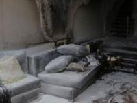 İzzet Yıldızhan'ın evi yandı, çocukları ölümden döndü