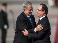 Hollande 7 bakan ve 200 kişilik heyetle İsrail'de