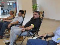 Güzelyurt'ta Kan Bağışı Kampanyası düzenlendi