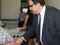 Sağlık Bakanı Sucuoğlu , Gazimağusa Devlet Hastanesi'ni ziyaret etti