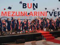 BUN ilk mezunlarını verdi!