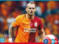 Son dakika: Galatasaray'da Sneijder krizi!