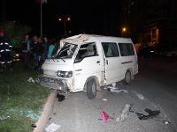 Hastane yolunda kaza: 8 yaralı