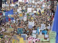 Londra'da Brexit protestosu