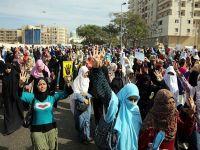 Ezher'de darbe karşıtı gösteri düzenlendi