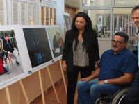 'Sanat Engel Tanımaz'  sergisi 'EVİNDE'