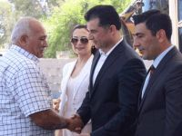 Özgürgün, Gazimağusa'da partililerle bayramlaştı
