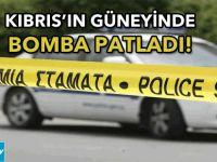 Kıbrıs'ın güneyinde bomba patladı!