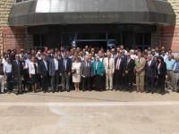 """YDÜ'de """"4. Zemin Mekaniği ve Geoteknik Mühendisliğinde Yeni Gelişmeler"""" konferansı gerçekleştirildi"""