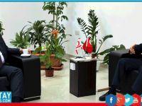 Şemsi Kazım Erkman Milli Eğitim ve Kültür Bakanı Berova'yı ziyaret etti