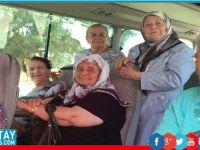 Değirmenlik Belediyesi, 65 yaş üstü bireylere Bafra gezisi düzenledi