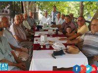İçişleri Bakanı Evren, Girne'de Polis Emeklileri Cemiyeti'ni ziyaret etti