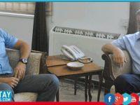 Yenierenköy Belediye Başkanı, Denktaş'ı ziyaret etti
