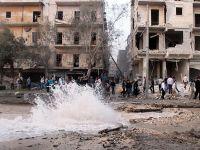 """Halep'te """"Varil bombalı"""" saldırı: 26 ölü"""