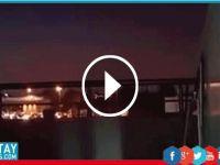 Darbe gecesi ses hızında ulaşan F-16'nın  patlama anı!
