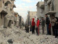 Esed güçleri yine varil bombalarıyla vurdu: 50 ölü