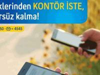 "Turkcell'le ""Kontör İste"" hep iletişimde kal"