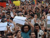 Bağımsızlık İttifakı Reddediyoruz Platformu'nun eylemini protesto etti