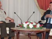 Başbakan Özgürgün Tuğgeneral Korkuter'i kabul etti