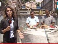 Muhabirin inanılmaz gafı (Video)