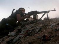Halep'te geçici ateşkes çatışma ile başladı