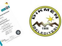 Dikmen Belediyesi'nin, ISO 9001 belgesi yenilendi!