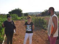 Yeşilköy'de üreticilere yönelik eğitim çalışması