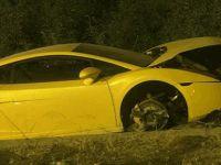 Girne'de kaza! Alkol ile Lamborghini gitmiyor...