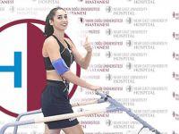 YDÜ Kadın Basketbol Takımı Yakın Doğu Üniversitesi Hastanesi'nde  sağlık kontrolünden geçti.
