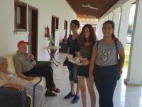 """""""İyilik Gönüllüsü Gençler"""", Lapta Huzur Evi'ni ziyaret etti..."""