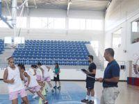 Girne Üniversitesi Kadın Basketbol Takımı performans testlerinden geçti...