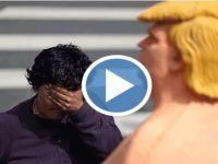 Çıplak Trump, ABD ile buluştu!