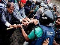 Bangladeş'te eylemler sürüyor
