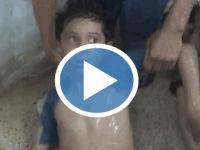 İşte cani Esad rejimi...