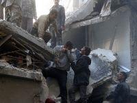 """Halep'te soğuktan kaçanları """"varil terörü"""" vuruyor"""