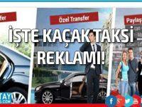 Korsan taksicilik sosyal medyada legal!