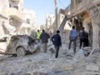 Halep'e varil bombalı saldırı: 21 ölü