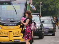 İsviçre'de sürücüsüz otobüsler test ediliyor