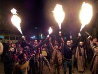 """Darbe karşıtı öğrenciler """"Gece 24"""" hareketini kurdu"""