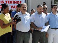 KTAMS Motorlu Araçlar Ruhsatlandırma Şubesi'nde grev yaptı
