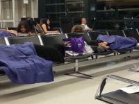 Viyana Havalimanı'nda Türk yolcular mahsur bırakıldı