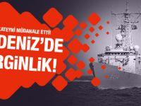Türk savaş gemisi, Rum gemisini taciz etti iddiası!