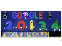 Google'dan ''yeni yıl'' kutlaması
