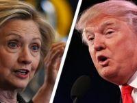 Trump son ankete göre Clinton'ın 2 puan önünde