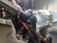 Halep'te varil bombalı saldırı: 8'i çocuk 16 ölü